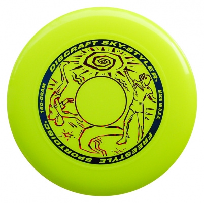 Discraft Sky-Styler - Freestyle Disc - Yellow