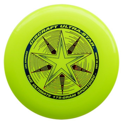 Discraft Ultra-Star - Ultimate Disc - Yellow